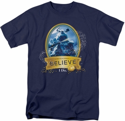Polar Express t-shirt True Believer mens navy