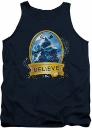 Polar Express tank top True Believer mens navy