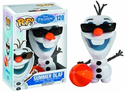 Pop Frozen Summertime Olaf Vinyl Figure