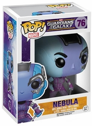 Pop Guardians Of The Galaxy Nebula Vinyl Figure