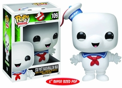 Pop Ghostbusters Stay Puft Vinyl Figure 6-inch