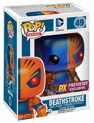 Pop Heroes Deathstroke Px Vinyl Figure Metallic