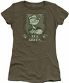 Popeye juniors t-shirt All About The Green military green