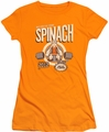 Popeye juniors t-shirt Eat Your Spinach orange