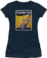 Popeye juniors t-shirt I Can Do It navy