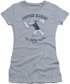 Popeye juniors t-shirt Poopdeck Academy athletic heather