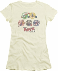 Popeye juniors t-shirt Team Popeye cream