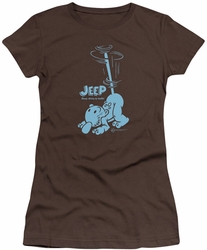 Popeye juniors t-shirt Trouble coffee