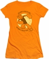Popeye juniors t-shirt You Want A Piece Of This orange