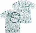 Popeye mens full sublimation t-shirt Repeat Sailor