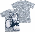 Popeye mens full sublimation t-shirt Tattooed Sailor