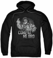 Popeye pull-over hoodie Come At Me adult black