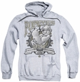 Popeye pull-over hoodie Forearms adult athletic heather