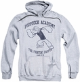 Popeye pull-over hoodie Poopdeck Academy adult athletic heather