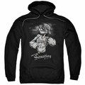 Popeye pull-over hoodie Situation adult black