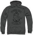 Popeye pull-over hoodie Strong Arm MC adult charcoal