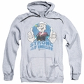 Popeye pull-over hoodie To The Finish adult athletic heather