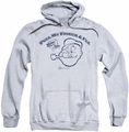 Popeye pull-over hoodie Toot! Toot! adult athletic heather