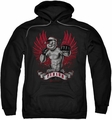 Popeye pull-over hoodie Undefeated adult black