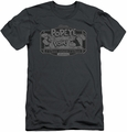 Popeye slim-fit t-shirt Classic Popeye mens charcoal