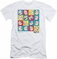 Popeye slim-fit t-shirt Color Block mens white
