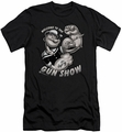 Popeye slim-fit t-shirt Gun Show mens black