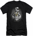 Popeye slim-fit t-shirt Hardcore mens black