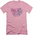 Popeye slim-fit t-shirt Olive Oyl Tattoo mens pink