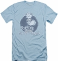 Popeye slim-fit t-shirt Original Sailorman mens light blue