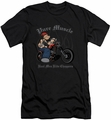 Popeye slim-fit t-shirt Pure Muscle mens black