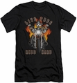 Popeye slim-fit t-shirt Ride Hard mens black