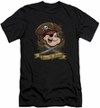 Popeye slim-fit t-shirt Shiver Me Timbers mens black