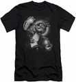 Popeye slim-fit t-shirt Spinach King mens black