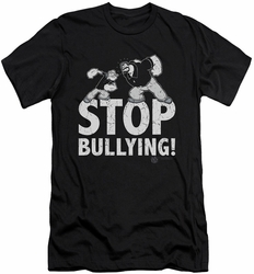Popeye slim-fit t-shirt Stop Bullying mens black