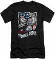Popeye slim-fit t-shirt Strong & Proud mens black