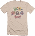 Popeye slim-fit t-shirt Team Popeye mens cream