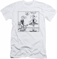 Popeye slim-fit t-shirt Well mens white