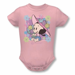 Popeye snapsuit Olive's Garden pink
