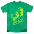 Popeye t-shirt Body By Spinach mens kelly green