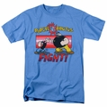 Popeye t-shirt Flight mens carolina blue