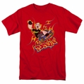 Popeye t-shirt Get Air mens red