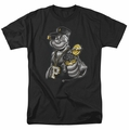 Popeye t-shirt Get More Spinach mens black