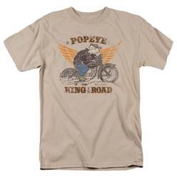 Popeye t-shirt King Of The Road mens sand