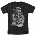 Popeye t-shirt Mine All Mine mens black