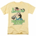Popeye t-shirt Muscle Man mens banana