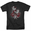 Popeye t-shirt Pong Star mens black