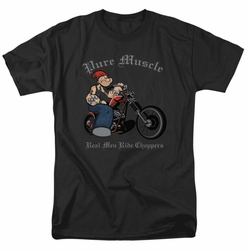 Popeye t-shirt Pure Muscle mens black