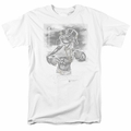 Popeye t-shirt Situation mens white