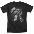 Popeye t-shirt Spinach King mens black