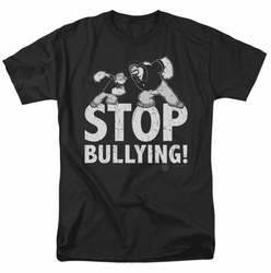 Popeye t-shirt Stop Bullying mens black